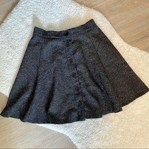 Brandy Melville Grey Skater Skirt